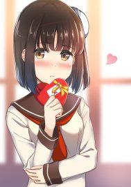 モナコインちゃんのバレンタイン